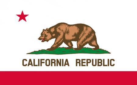 eldorado: Flag of California is the most populous state in the United States