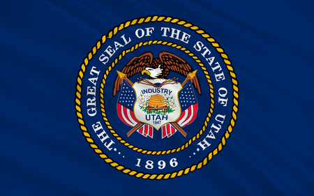 allegiance: Flag of Utah is a state in the western United States.