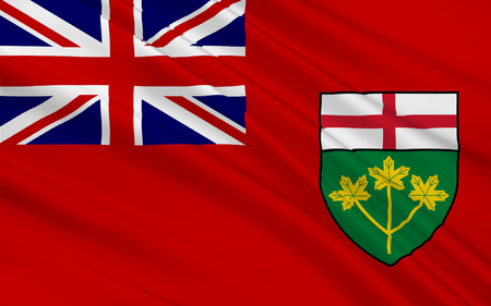 allegiance: Flag of Ontario is one of the ten provinces of Canada, located in east-central Canada