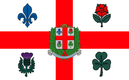 quebec city: Flag of Montreal is the most populous city in the province of Quebec. It is the second most populous municipality in Canada after Toronto
