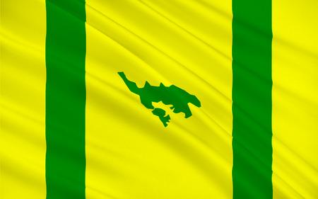 bandera de puerto rico: Bandera de Isla Culebra (Snake Island) es una isla-municipio de Puerto Rico