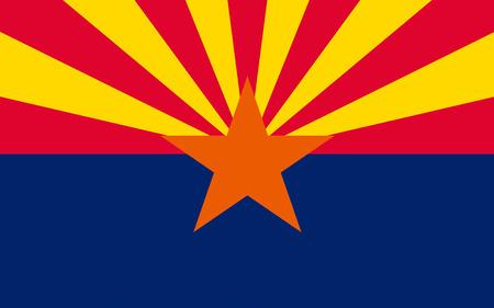 americana: Flag of Arizona, Phoenix - United States