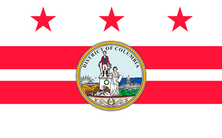 district columbia: Flag of Washington, D.C., formally the District of Columbia and commonly referred to as Washington, the District, or simply D.C., is the capital of the United States