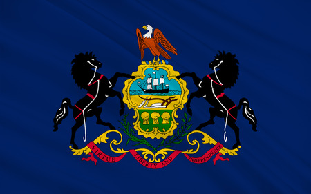 allegiance: Flag of Pennsylvania officially the Commonwealth of Pennsylvania, is a state located in the northern and Mid-Atlantic regions of the United States