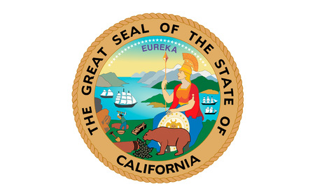 sierra nevada: Flag of California is the most populous state in the United States