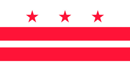 district of columbia: Flag of Washington, D.C., formally the District of Columbia and commonly referred to as Washington, the District, or simply D.C., is the capital of the United States