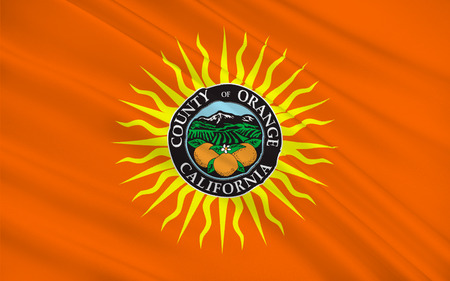 sierra nevada: Flag of Orange County is a county in the U.S. state of California