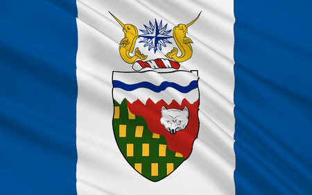 territories: Flag of Northwest Territories (NWT) is a territory of Canada