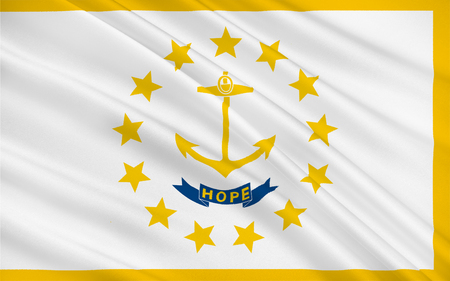 new england: Flag of Rhode Island officially the State of Rhode Island and Providence Plantations, is a state in the New England region of the United States