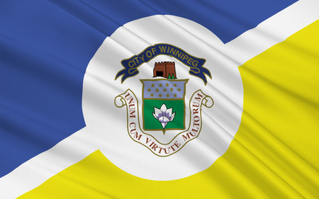 peg: Flag of Winnipeg is the capital and largest city of the province of Manitoba in Canada.