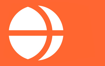 chubu: Flag of Nagano Prefecture is a landlocked prefecture of Japan located in the Chubu region of the island of Honshu. 3D rendering