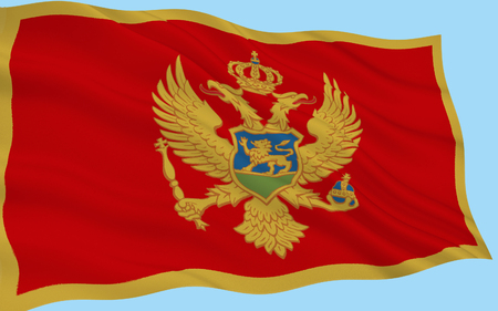 sanctioned: The flag of Montenegro was officially adopted on statehood day on 13th July 2004 at the proposal of the government of Montenegro. It was constitutionally sanctioned with the proclamation of the Constitution on 22nd October 2007