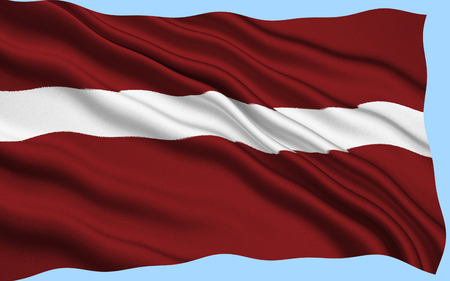 soviet union: Flag of Latvia - used by independent Latvia from 1918 until the country was occupied by the Soviet Union in 1940. Its use was suppressed during Soviet rule. After regaining its independence, Latvia re-adopted on 27 February 1990.