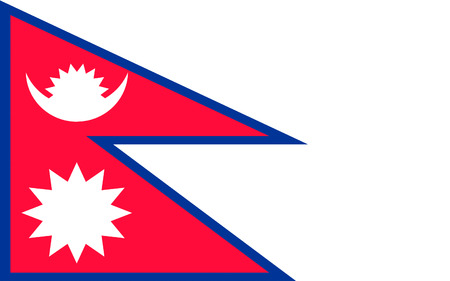 landlocked: Flag of Nepal officially the Federal Democratic Republic of Nepal is a federal republic and landlocked country in South Asia.