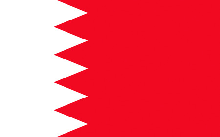 raise the white flag: Flag of Bahrain officially the Kingdom of Bahrain is an island country situated near the western shores of the Persian Gulf in the Middle East
