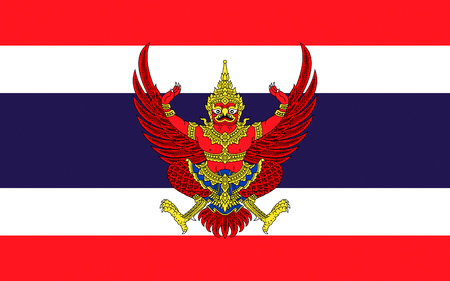 indo: Flag of Thailand officially the Kingdom of Thailand formerly known as Siam, is a country at the centre of the Indochinese peninsula in Mainland Southeast Asia.