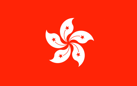 Flag of Hong Kong officially Hong Kong Special Administrative Region of the Peoples Republic of China, is autonomous territory on the southern coast of China