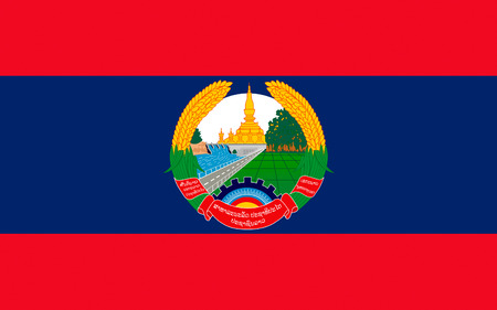 landlocked: Flag of Laos officially the Lao Peoples Democratic Republic (LPDR) is a landlocked country in the heart of the Indochinese peninsula of Mainland Southeast Asia.