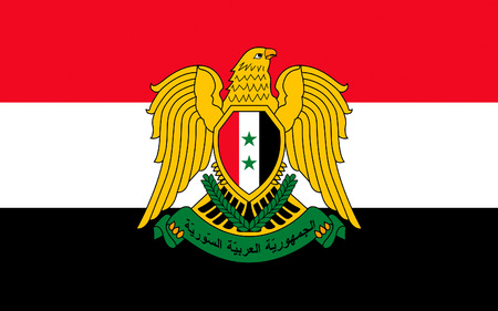 assad: Flag of Syria officially the Syrian Arab Republic, is a country in Western Asia.