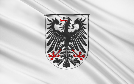 rhein: Flag of Ingelheim am Rhein is a town in the Mainz-Bingen district in Rhineland-Palatinate, Germany