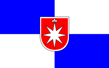 Reich: Flag of Norderstedt is a city in Schleswig-Holstein, Germany