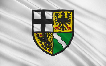 deutsch: Flag of Ahrweiler is a district in the north of Rhineland-Palatinate, Germany
