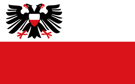 holstein: Flag of Lubeck is a city in Schleswig-Holstein, northern Germany