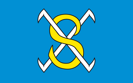 Flag of Sangerhausen is a town in Saxony-Anhalt, Germany