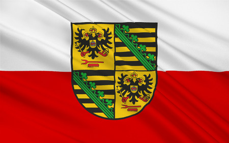 reich: Flag of Saalfeld-Rudolstadt is a Kreis (district) in the south of Thuringia, Germany