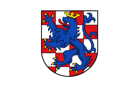 federal republic of germany: Flag of Birkenfeld is a district (Landkreis) in Rhineland-Palatinate, Germany