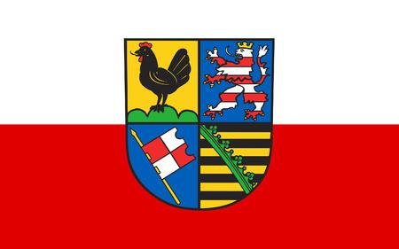 Flag Of Schmalkalden Meiningen Is A Landkreis In The Southwest
