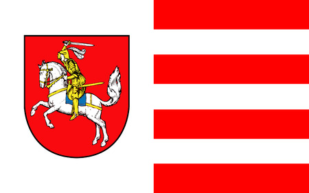 holstein: Flag of Dithmarschen is a district in Schleswig-Holstein, Germany