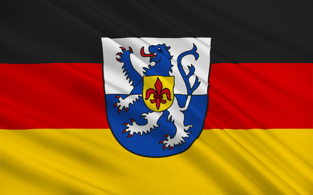 federal republic of germany: Flag of Sankt Wendel is a Kreis (district) in the north of the Saarland, Germany