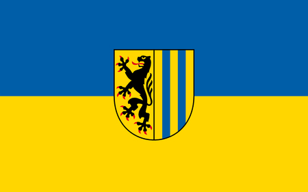 dresden: Flag of Leipzig is the largest city in the federal state of Saxony, Germany
