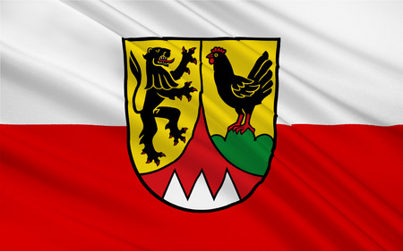 district': Flag of Hildburghausen is a district in Thuringia, Germany