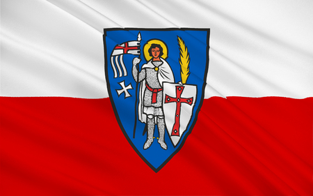 nationalist: Flag of Eisenach is a town in Thuringia, Germany