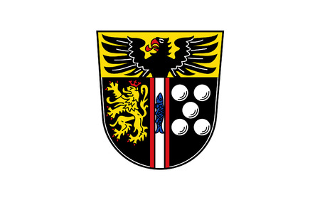 federal republic of germany: Flag of Kaiserslautern is a district (Kreis) in the south of Rhineland-Palatinate, Germany