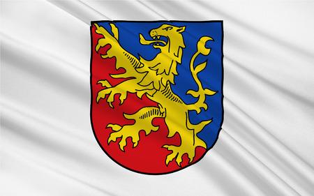 ems: Flag of Rhein-Lahn-Kreis is a district (Kreis) in the east of Rhineland-Palatinate, Germany