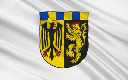 federal republic of germany: Flag of Rhein-Hunsruck-Kreis is a district (Kreis) in the middle of Rhineland-Palatinate, Germany