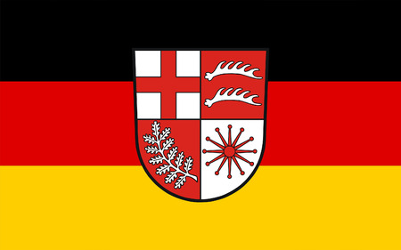 district': Flag of Losheim am See is a municipality in the district Merzig-Wadern, in Saarland, Germany