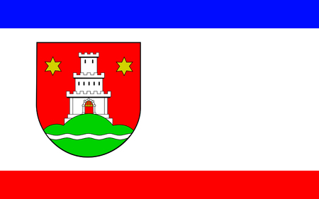 reich: Flag of Pinneberg is a town in Schleswig-Holstein in Germany