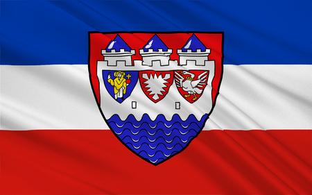 reich: Flag of Steinburg is a district in Schleswig-Holstein, Germany