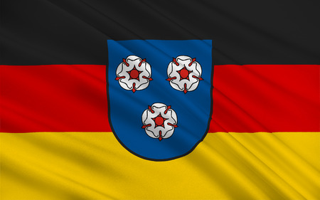 municipality: Flag of Mettlach is a municipality in the district Merzig-Wadern, in Saarland, Germany