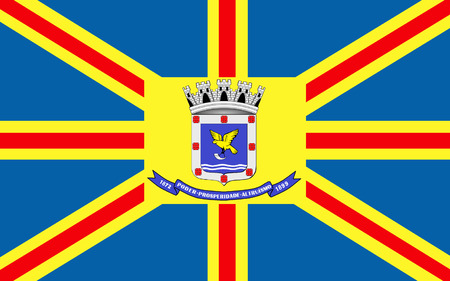 カンポ ・ グランデの旗は、マッ...