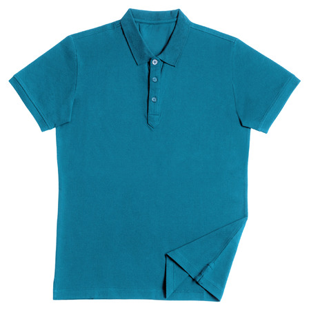 Polo shirt isolated on white background Banco de Imagens - 65191611