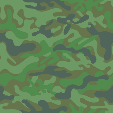 Seamless camouflage pattern. Vector illustration  イラスト・ベクター素材