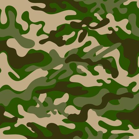 Seamless camouflage pattern. Vector illustration Иллюстрация