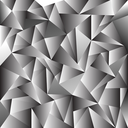 Poligon Geometric Gradient Background. Vector illustration