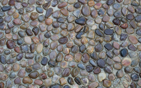 lacquered: Round, lacquered, rocks, stones, pattern. Stock Photo