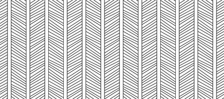 Nahtloses Muster diagonaler Linien. Geometrischer Hipster-Hintergrund. Moderne stilvolle Textur. Vektorgrafik